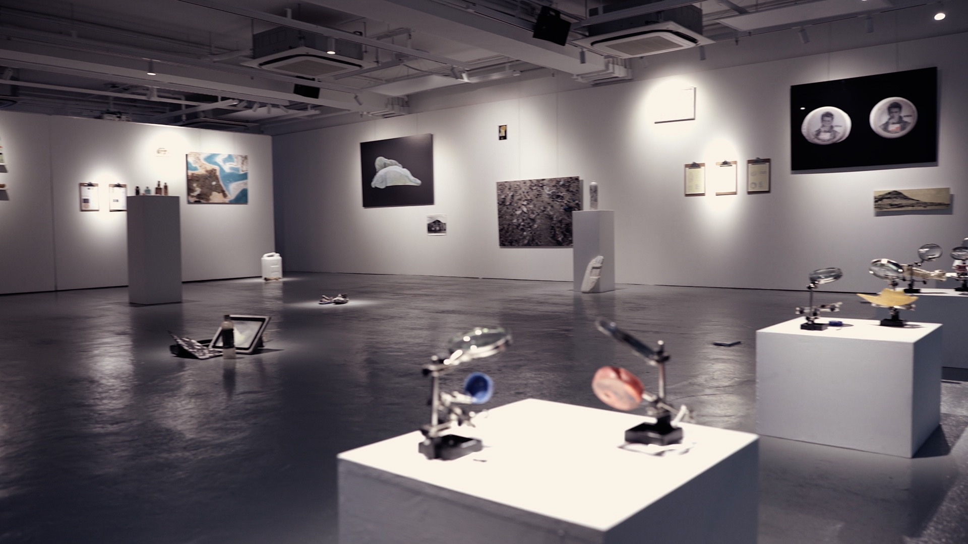TRES exhibition in WMA Space